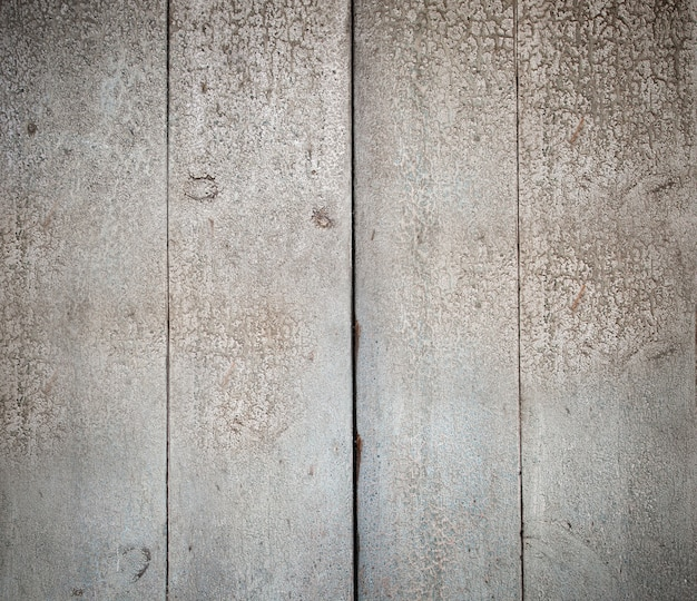 Bordi di legno dipinti struttura bianca