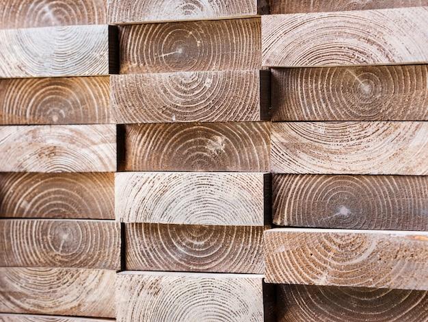 Bordo con trama di anelli di albero per la decorazione