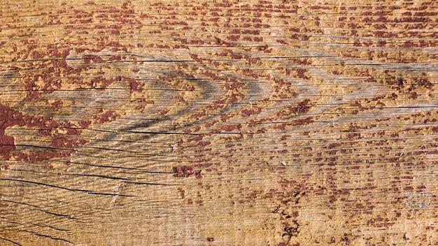 Bordo di legno planked d'annata anziano