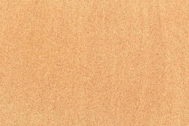 Bordo di sughero con texture di sfondo. scheda vuota per appunti