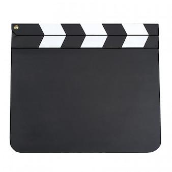 Bordo di valvola in bianco di produzione di film con lo spazio della copia isolato sopra