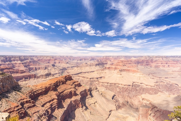 Bordo sud del grand canyon