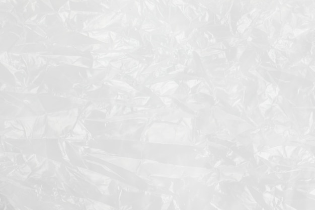 Borsa di immondizia bianca di struttura del film sgualcito fondo astratto