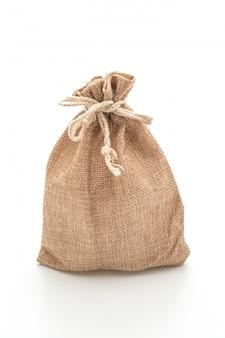 Borsa in tessuto a sacco