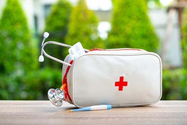 Borsa per kit di primo soccorso in esterno