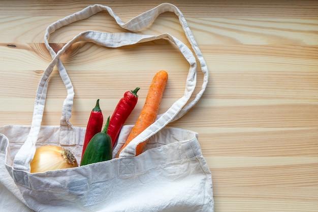 Borsa riutilizzabile per prodotti con verdure