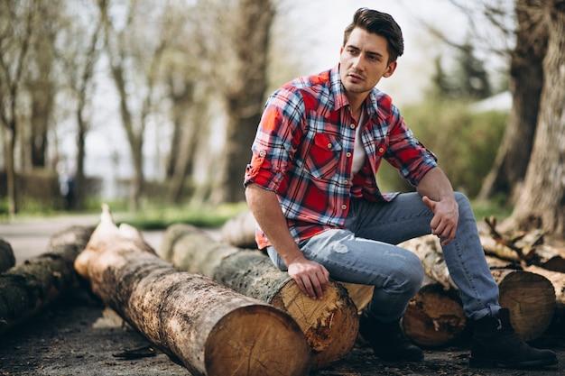 Boscaiolo modello uomo