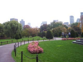 Boston public giardini