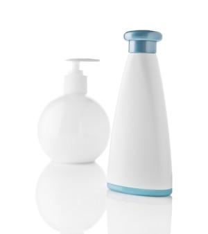 Bottiglie cosmetiche bianche