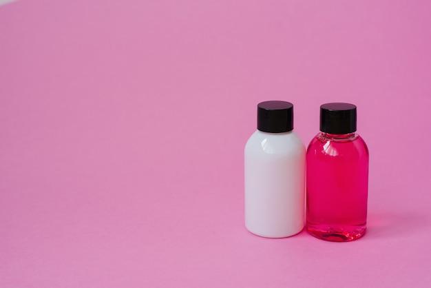 Bottiglie cosmetiche per prodotti cosmetici