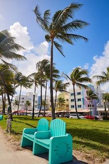 Boulevard art deco florida di miami beach ocean
