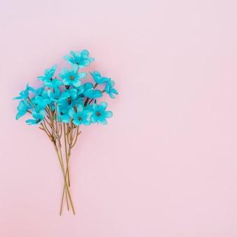 Bouquet di fiori blu