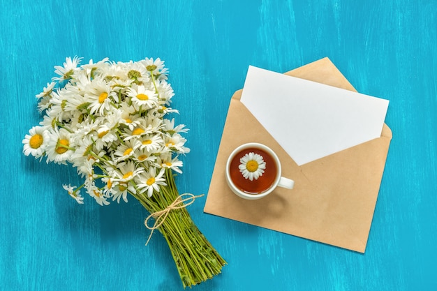 Bouquet di fiori di camomilla