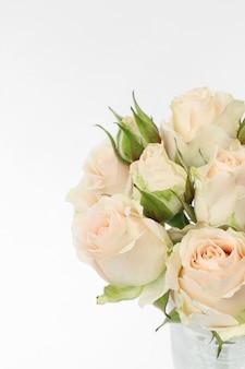 Bouquet di rose beige