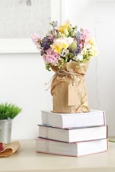 Bouquet sul tavolo