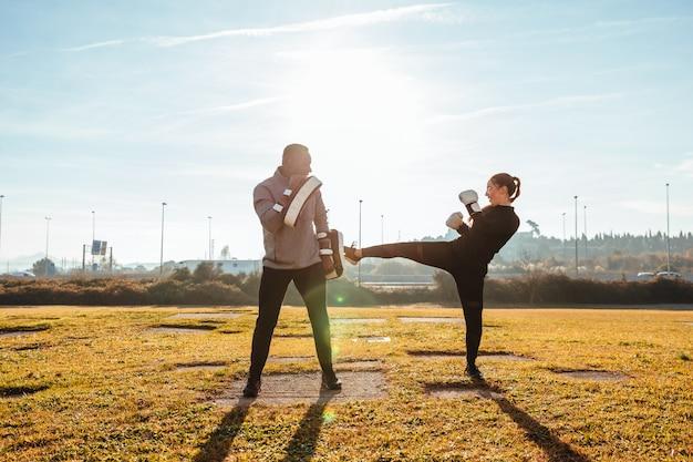 Boxe personal trainer