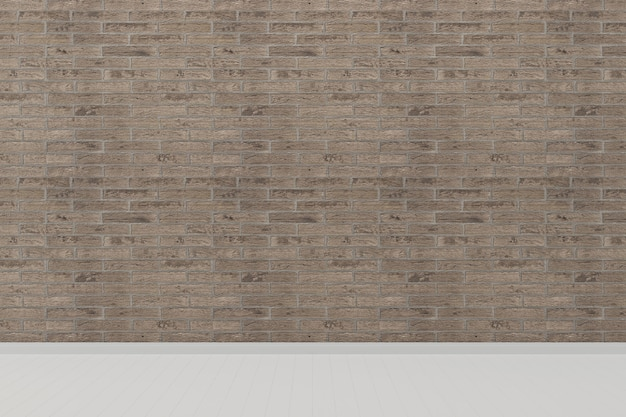 Brick tile wall living room house background template pavimento bianco