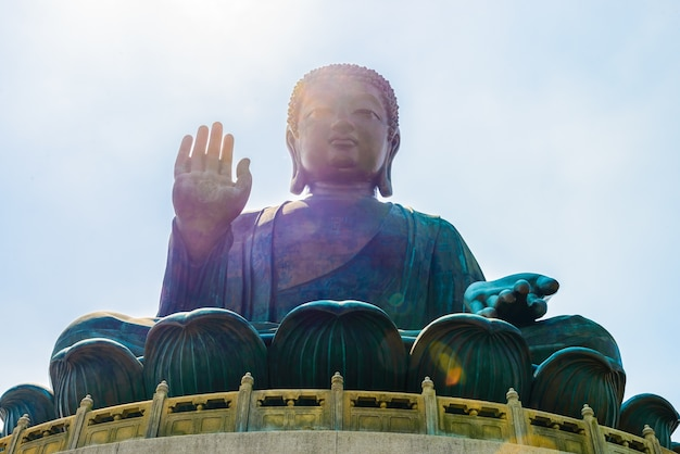 Buddah grande statua gigante asiatico