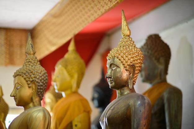 Buddismo, thailandia buddha, statua di buddha