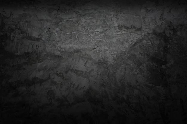 Buio nero del fondo ruvido di struttura nera della parete