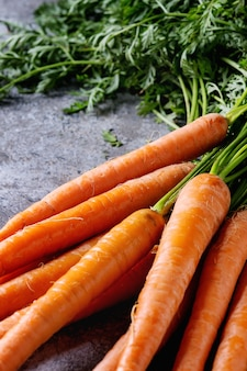 Bundle di carota fresca
