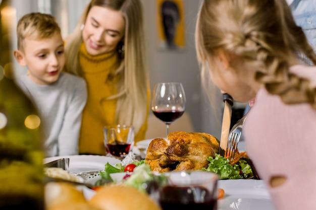 Buon giorno del ringraziamento o buon natale