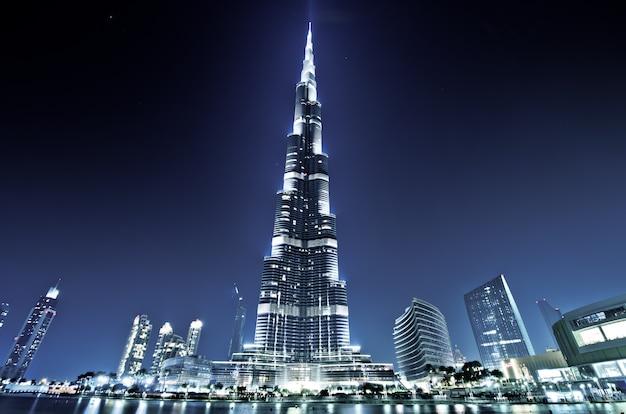 Burj khalifa, burj dubai, dubai, emirati arabi uniti