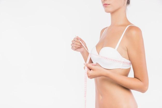 Busto di misurazione donna