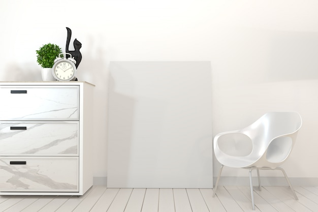 Cabinet in granito poster e rendering frame.3d