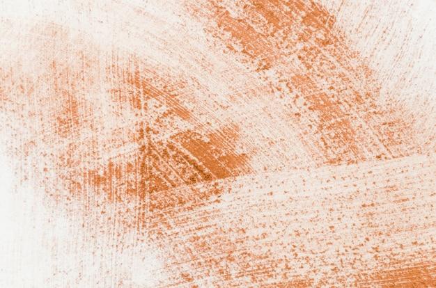 Cacao in polvere su sfondo bianco
