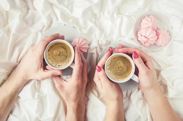 Caffè a letto