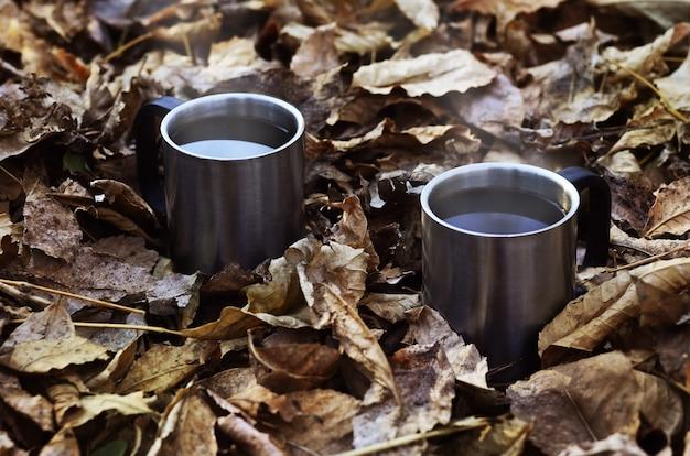 Caffè autunnale stagionale