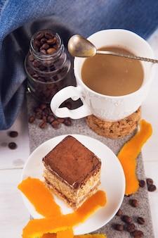 Caffè con deserto