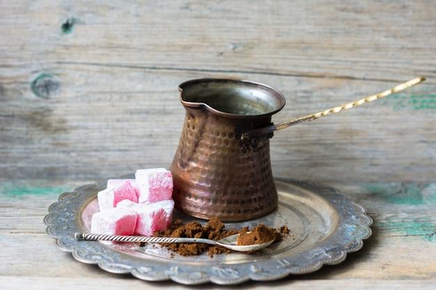 Caffè e dolci arabi