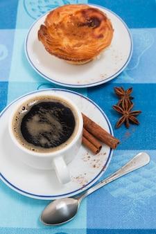 Caffè espresso e crema di uova