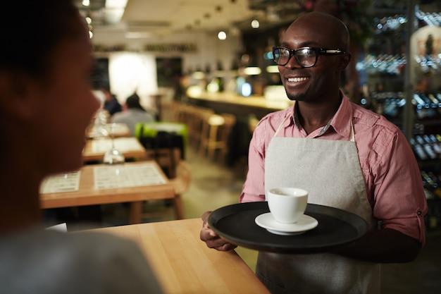 Caffè per cliente