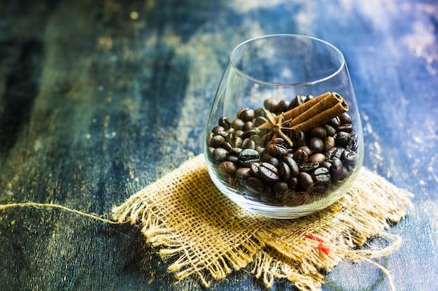 Caffè su legno