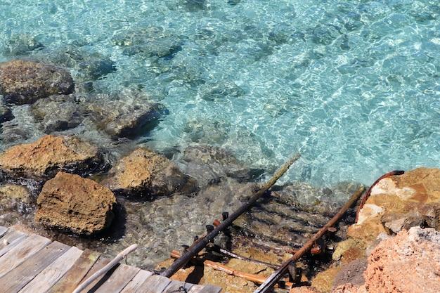 Cala saona formentera isole baleari