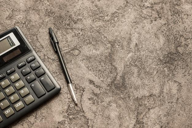 Calcolatrice e copyspace