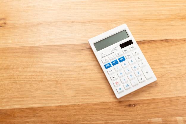 Calcolatrice sulla scrivania