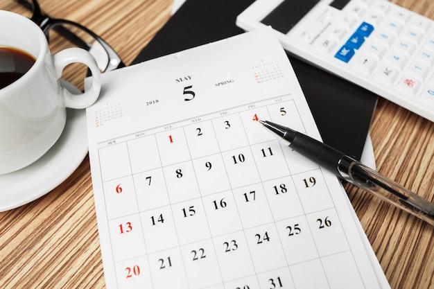 Calendario dello spazio di lavoro
