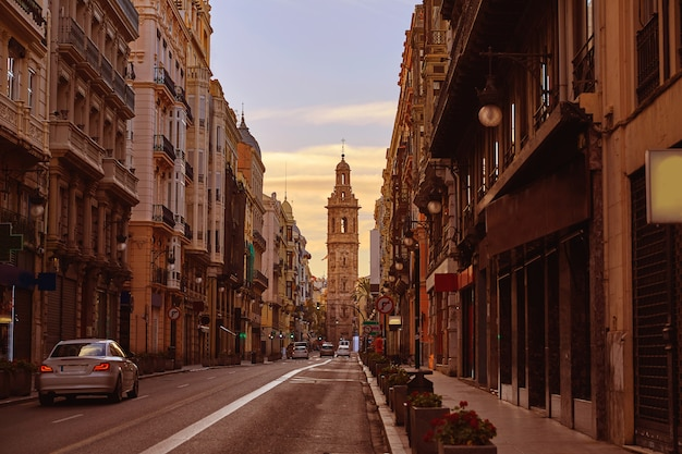 Calle de la paz di valencia