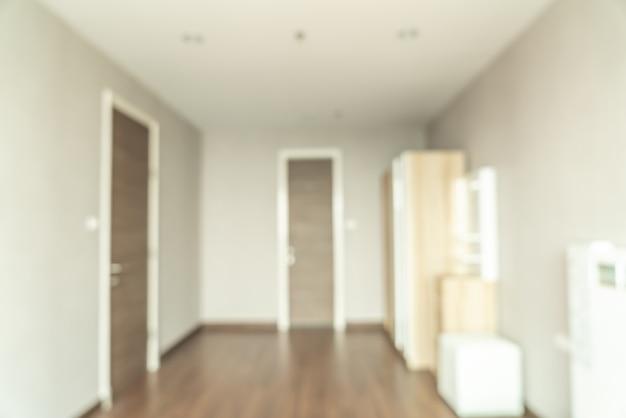 Camera da letto astratta della sfuocatura