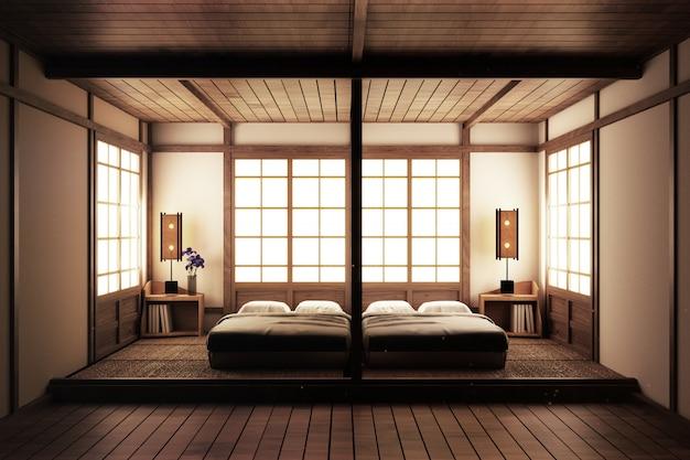 Camera da letto. camera da letto in stile zen. camera da letto serena