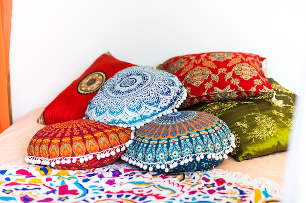 Camera da letto in colori vivaci