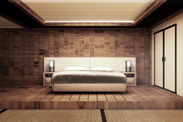 Camera da letto in stile giapponese