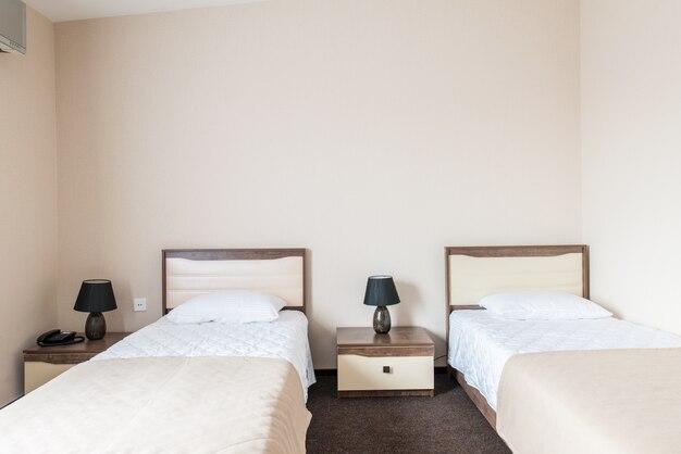 Camera doppia in hotel moderno
