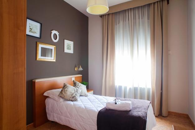 Camera singola dell'hotel ares