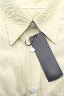 Camicia gialla da lavoro