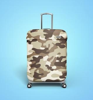 Camo desert suitcase
